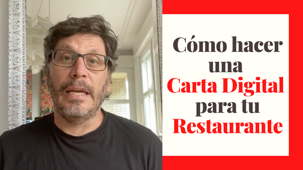 Carta digital restaurantes