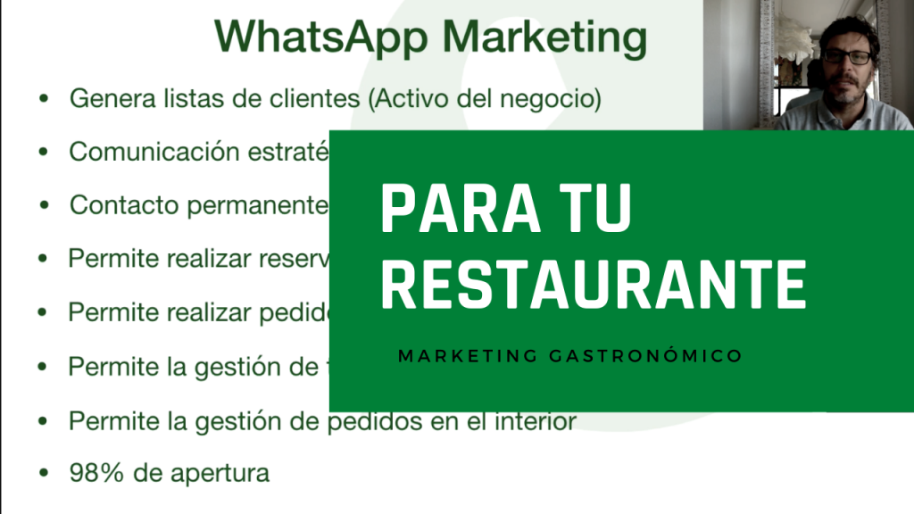 Ventajas de WhatsApp marketing para tu Restaurante