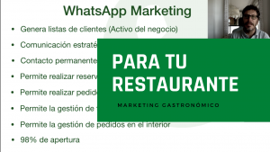 Ventajas de WhatsApp marketing para tu Restaurante